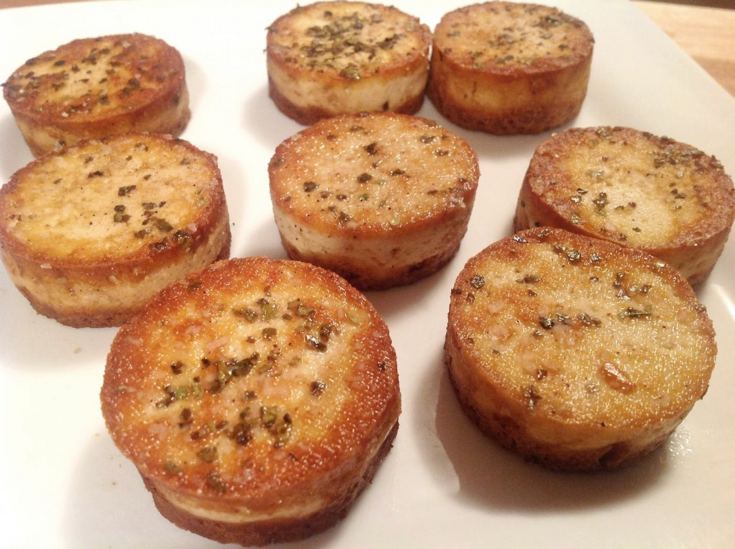 vegan tofu scallops