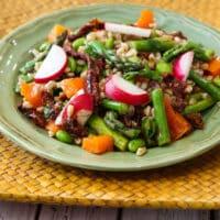 Farro asparagus salad recipe