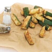Masala Zucchini Fries by Kathy Hester