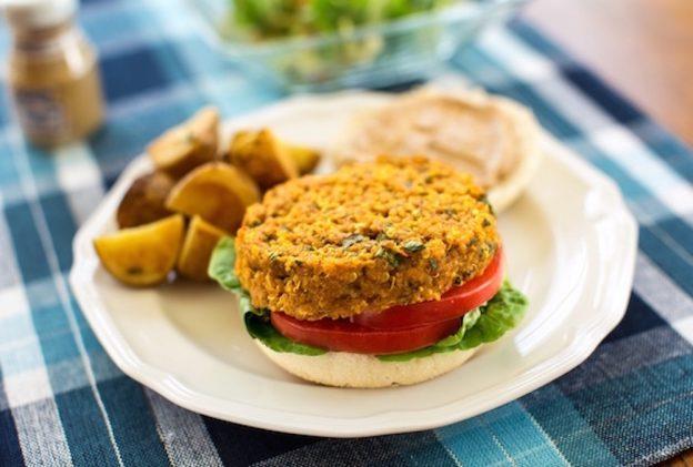 Quinoa and Red Lentil Vegan Burger Recipes