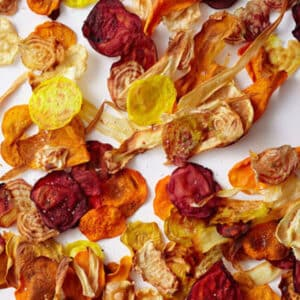 Baked veggie chips by Rachael Ray