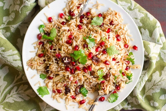 Basmati Cauliflower Rice Pilaf