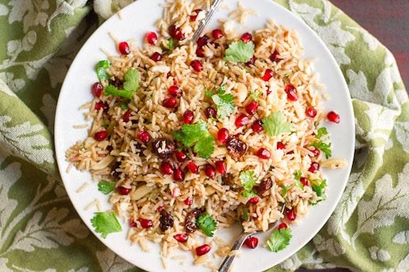 Basmati Cauliflower Rice Pilaf