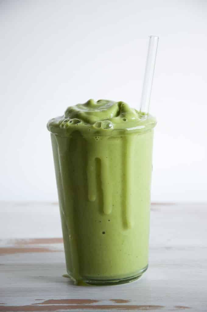 frozen green smoothie