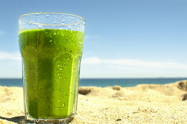 spinach banana super smoothie