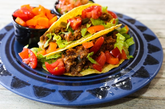 Instant vegan taco filling