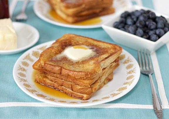 Aquafaba French Toast by Vegan Mother Hubbard