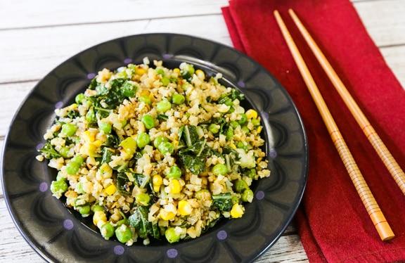 Chinese cauliflower fried rice recipe