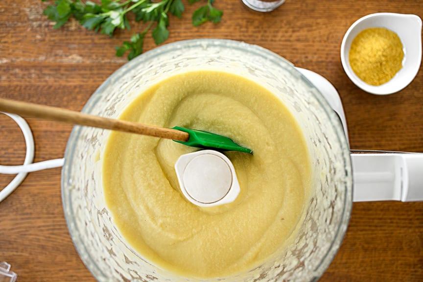 How to make vegan cauliflower alfredo sauce