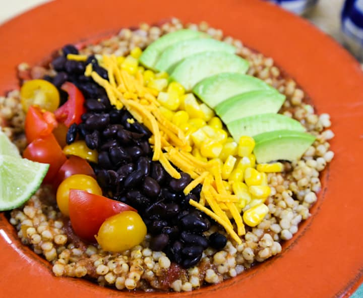 Southwestern sorghum bowl recipe