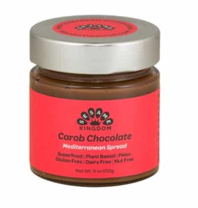 Carob chocolate spread sesame kingdom