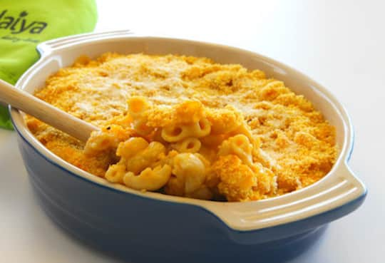 Daiya baked vegan mac and cheese