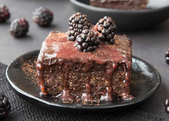 Famous Raw Brownies recipe