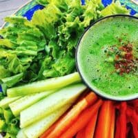 Fresh pea soup