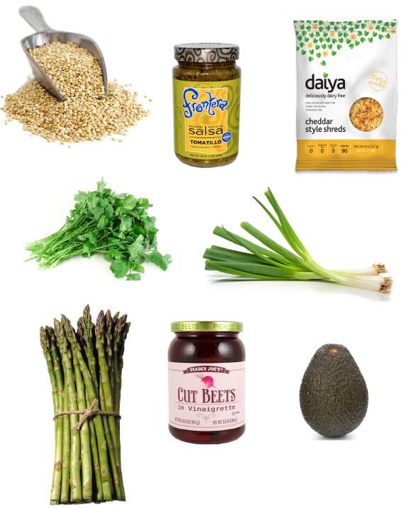Salsa Verde Quinoa Skillet