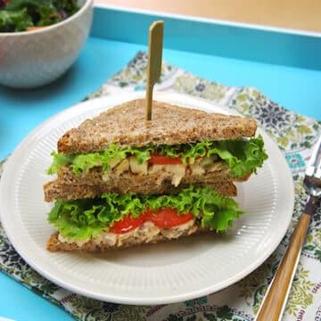 Apple-Pecan Tempeh Salad Sandwich Spread