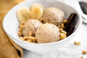 Banana Peanut Butter Chocolate Ice Cream