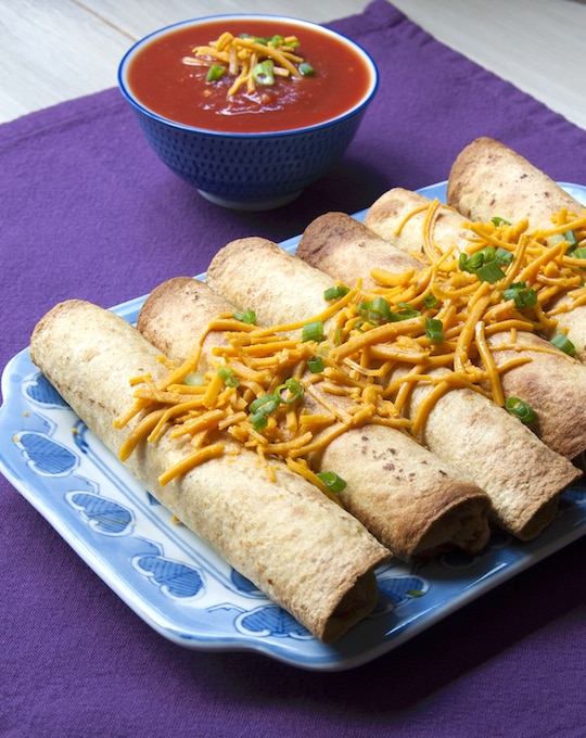 Beany Jackfruit Taquitos recipe