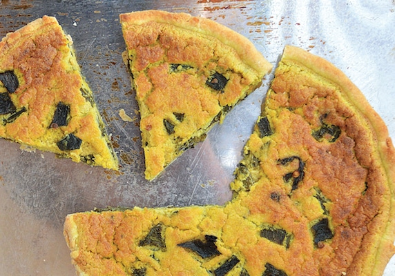 Chile Relleño Aquafaba Quiche