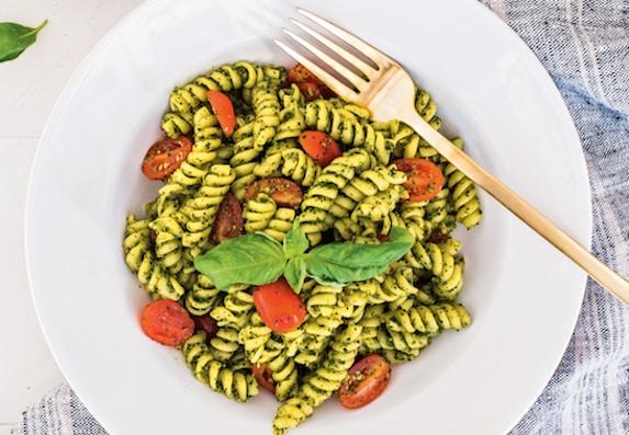 Kale Pesto Pasta recipe