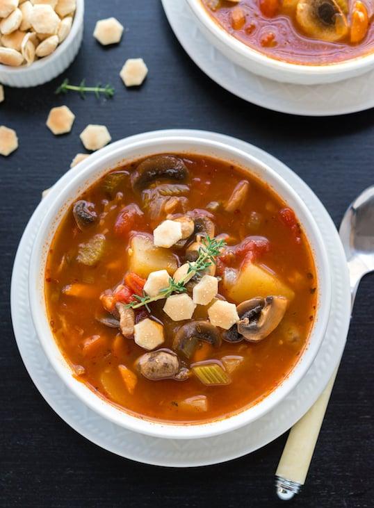 Vegan clam chowder recipe