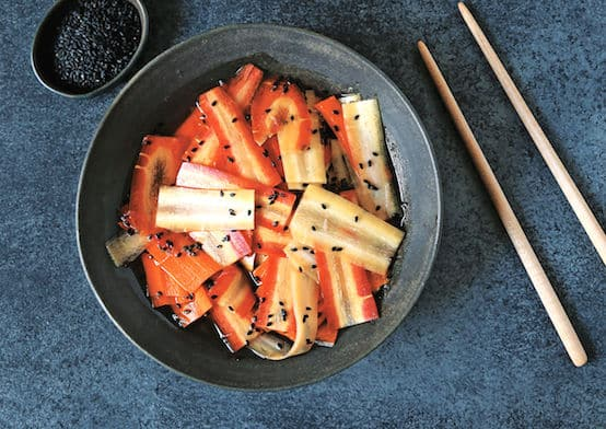 Japanese Carrot Pickles