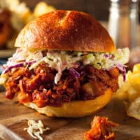 Vegan Pulled Jackfruit BBQ Sandwich recipe