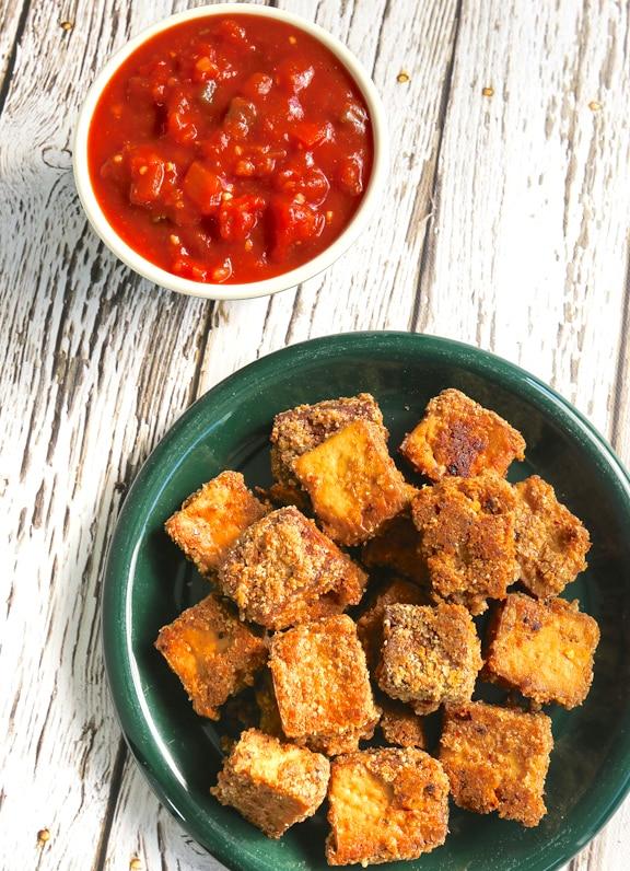 Tofu Vegan chicken nuggets