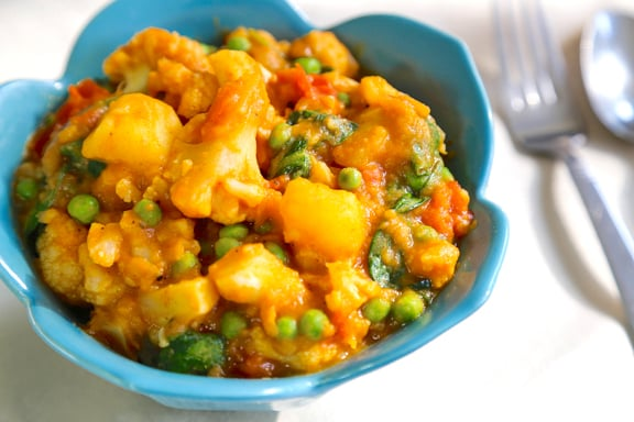 Quick and easy Vegetables masala