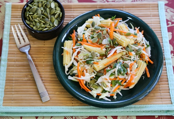 Easiest Asian Slaw
