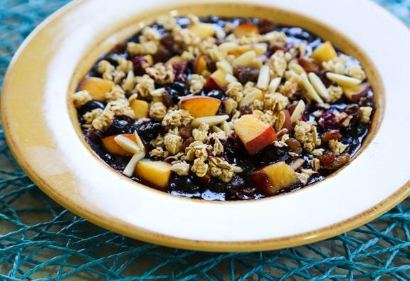 Easy skillet blueberry cobbler recipe