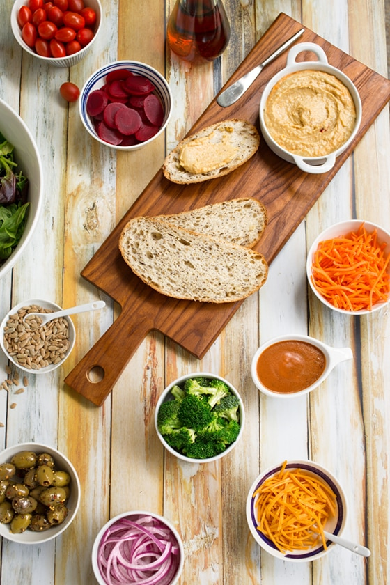 How to create a salad bar at home