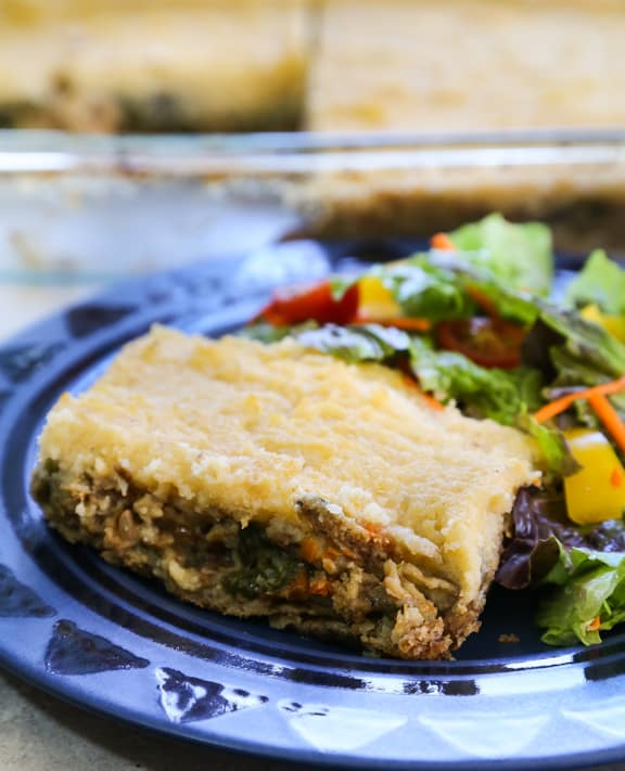 Shortcut Vegan Shepherd's Pie