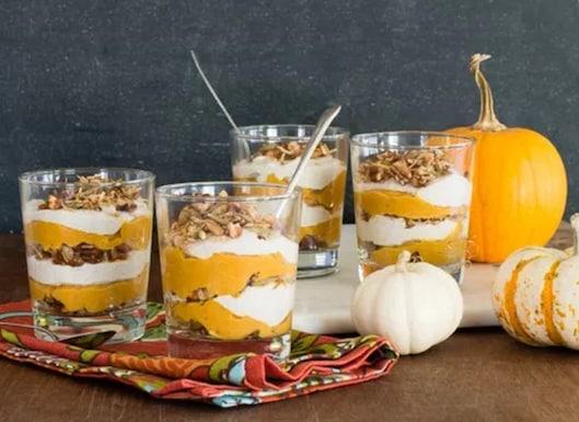 pumpkin parfaits
