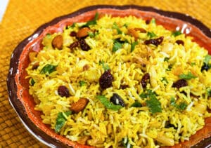 Almost-Instant Fruit and Nut Rice Pilaf