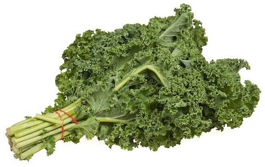 Kale — fresh bunch curly