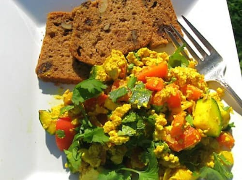 8 tofu scramble recipes for your next vegan brunch this tofu scramble is loaded with fresh vegetables that give if flavor spice and a latin flare you could easily add or remove vegetables to make it how forumfinder Choice Image