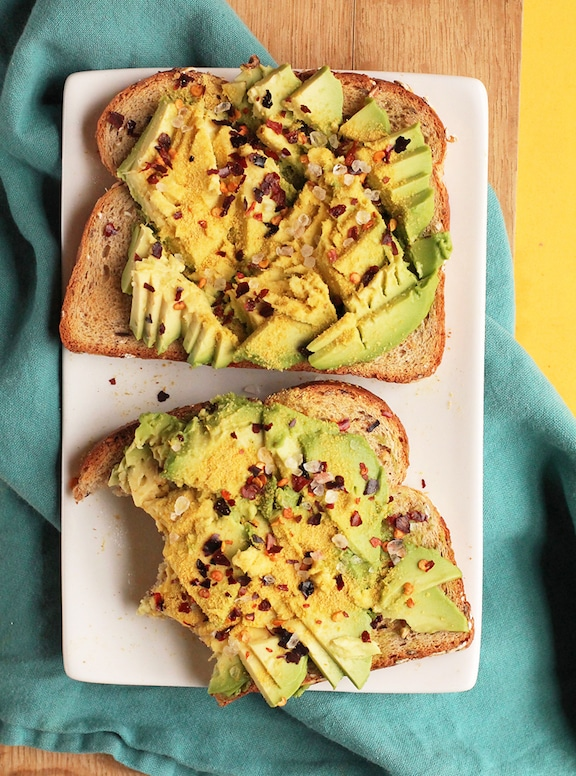 Easy Avocado Toast from My Darling Vegan
