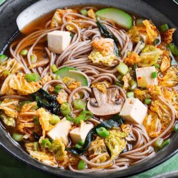 Instant Kimchi Noodle Soup cropped