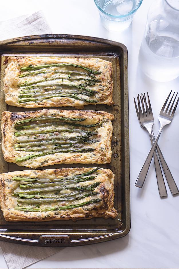 Savory Asparagus and Sun-Dried Tomato Herb Tart