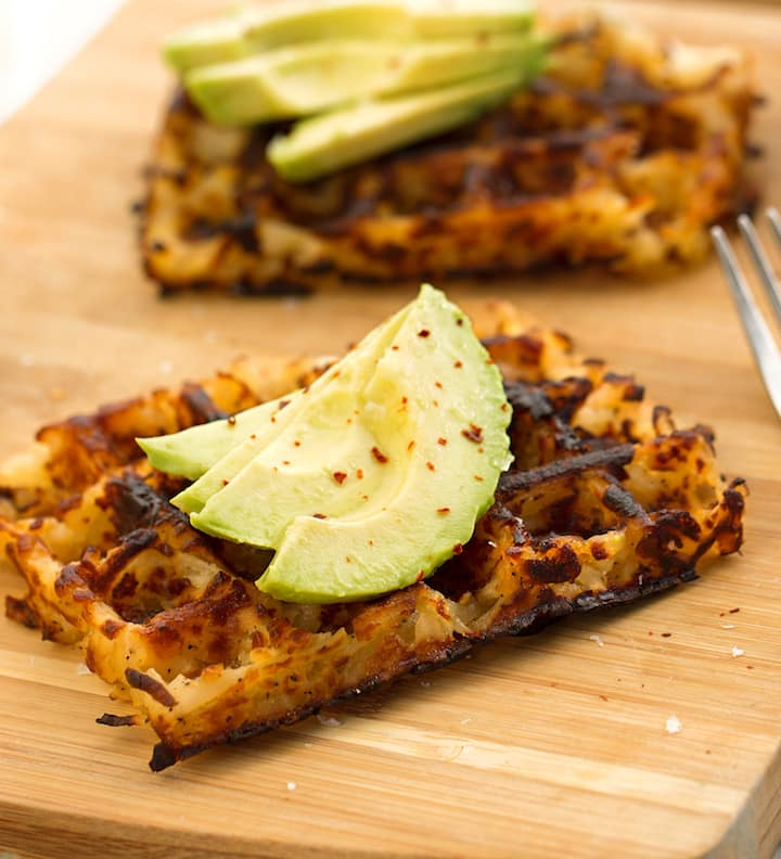 Hashbrown Waffles from Real Food, Really Fast by Hannah Kaminsky