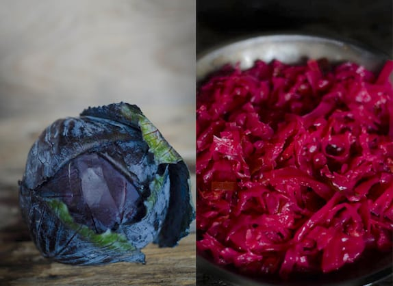 Hot Pink Jalapeno Kraut from Nourished Kitchen