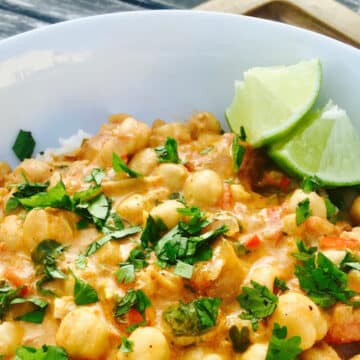 chickpea and vegetable curry