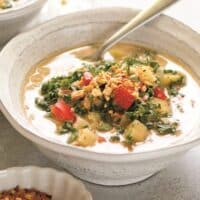 Peanut Kale Soup - China Study Cookbook