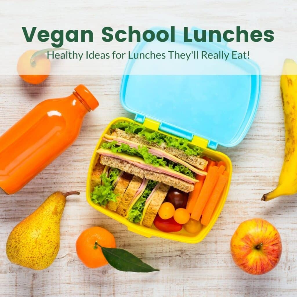 vegan school lunches