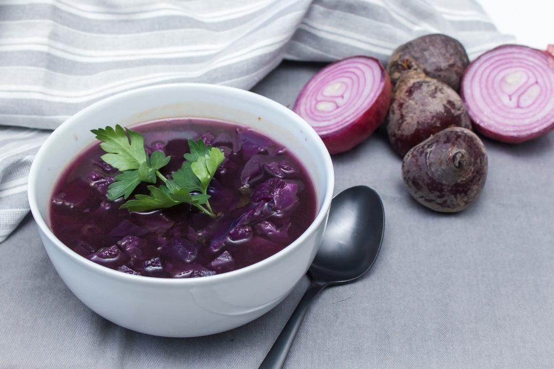 Valentines Beet Soup (Borsch Variation)
