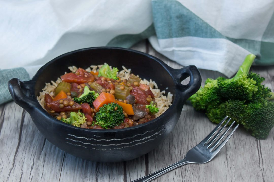 Protein-Packed Plant-Based Lentil Stew