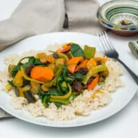 Slow Cooker Moroccan Vegetable Stew