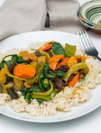 Slow Cooker Moroccan Vegetable Stew