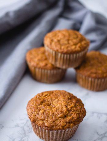 vegan bran muffins